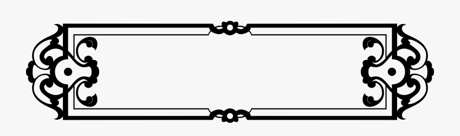 Sticker Clipart Name Plate Border.