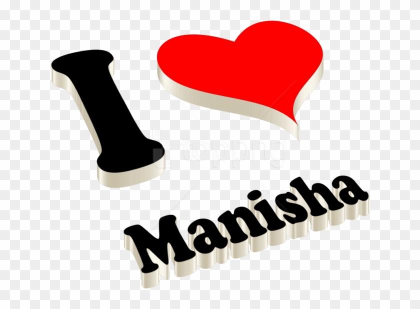 Download Manisha 3d Letter Png Name Png Images Background.