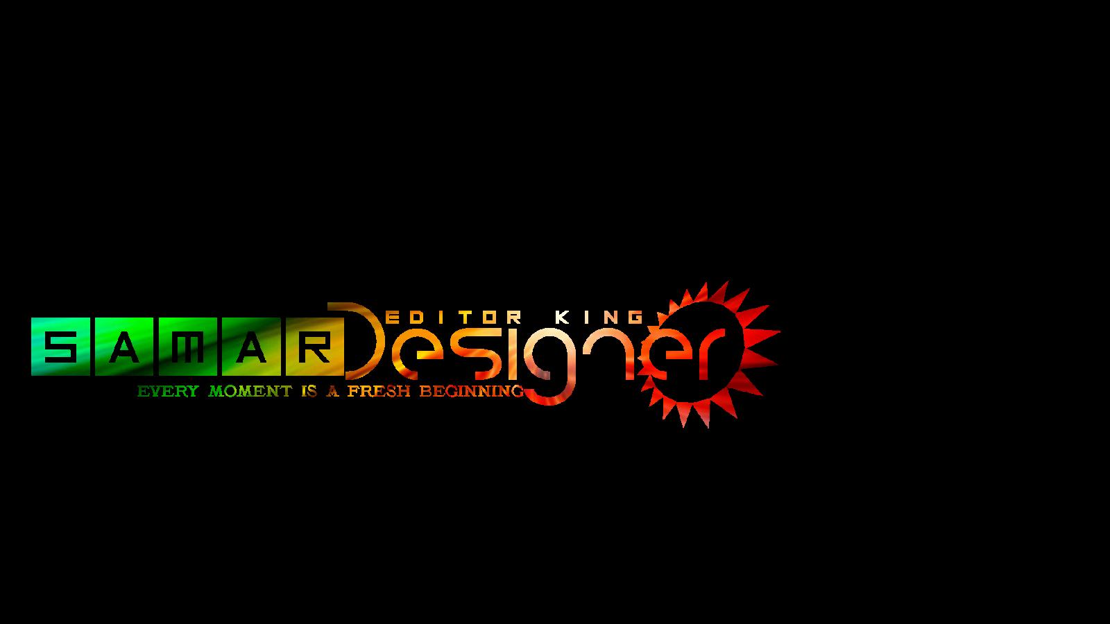 SAMAR EDITOR : Samar Name Logo.