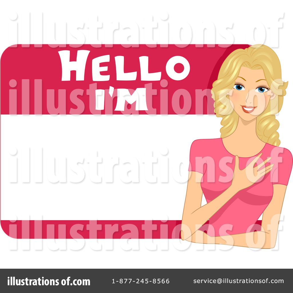 Name Tag Clipart #1094778.