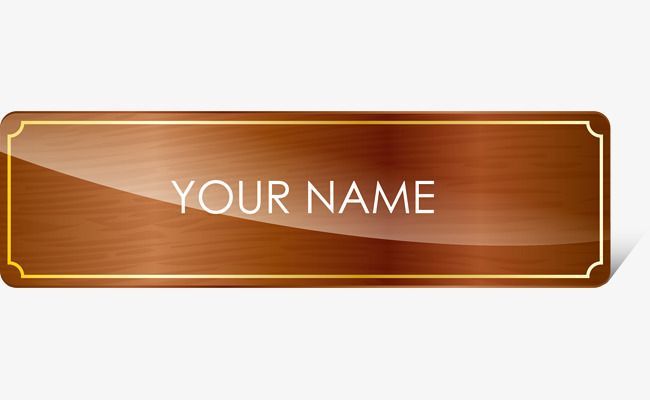 Name Plate Png (110+ images in Collection) Page 3.