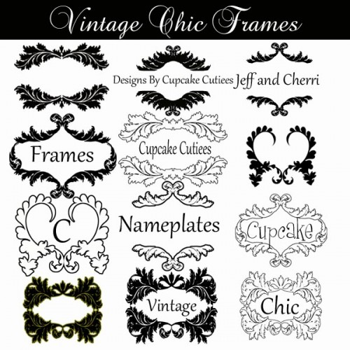 Clipart name plate.