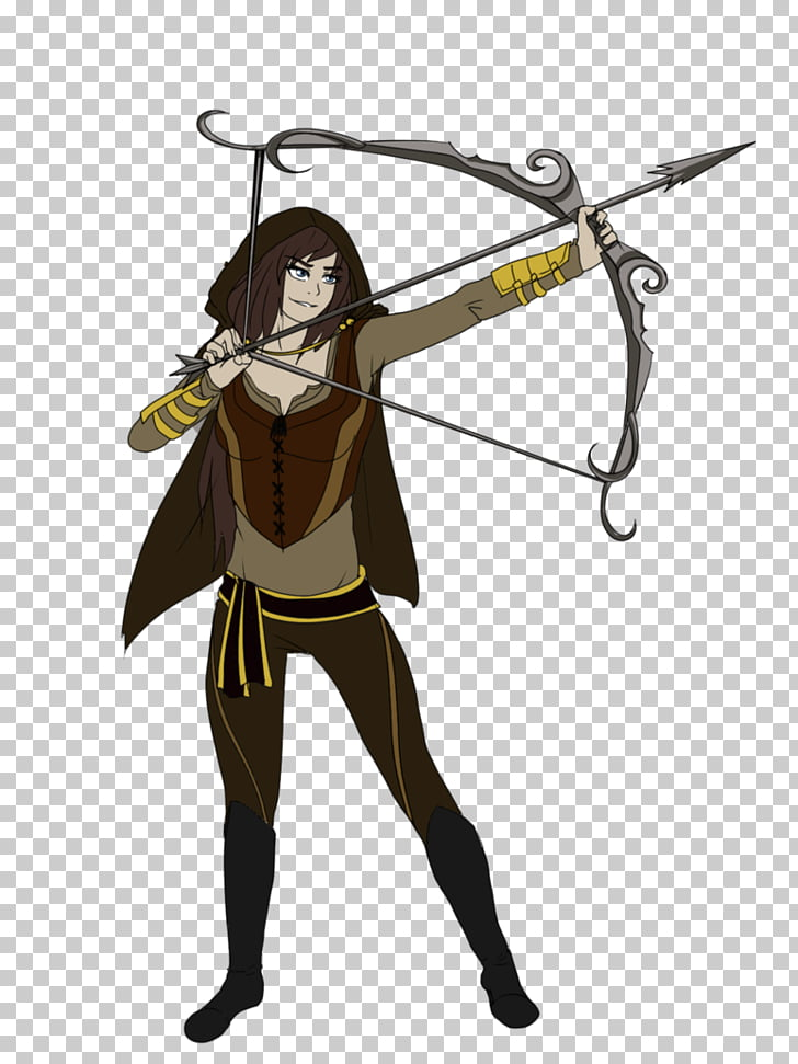 Drawing Artist Cartoon Video Weapon, archery bow types no.