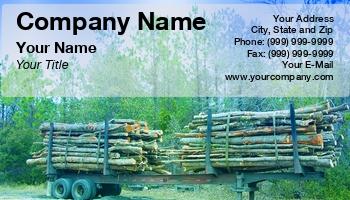 Logging Business Cards.