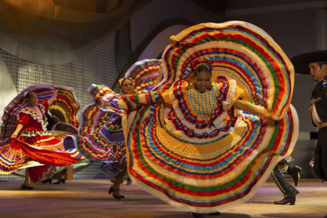 Traditional Dances of Mexico.