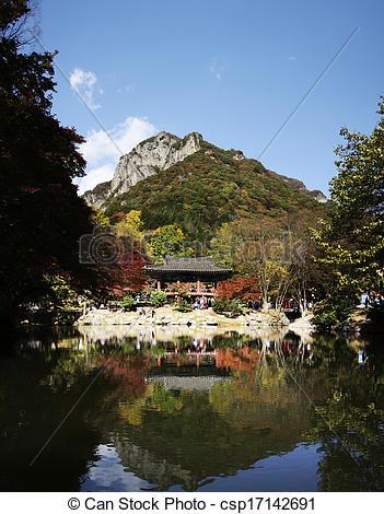 Stock Photographs of Castle in south korea Namhansanseong.