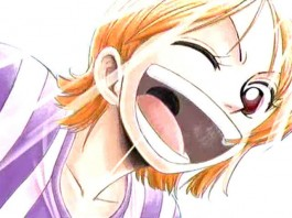 Nami One Piece Clipart.