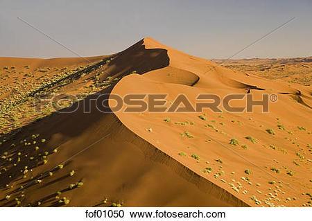 Stock Photography of Africa, Namibia, Namib Desert and Desert.