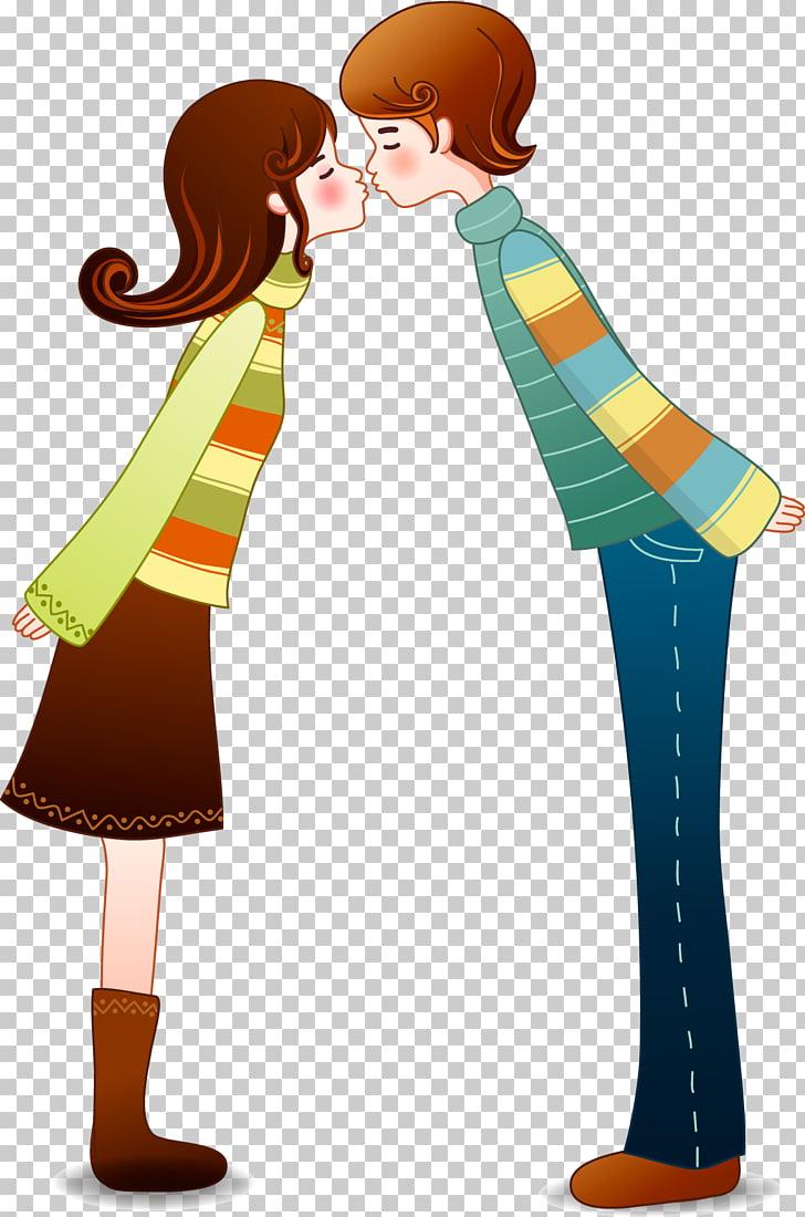 Dia dos Namorados Dating , Couples kiss PNG clipart.