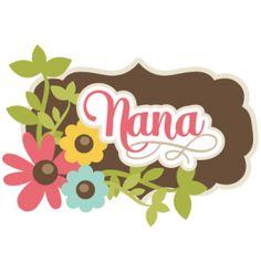 Nana Clipart.
