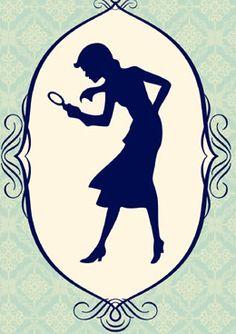Nancy Drew silhouette.
