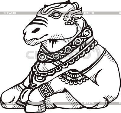 Bull Nandi.