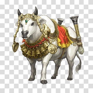Nandi transparent background PNG cliparts free download.