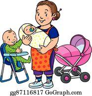 Nanny Clip Art.