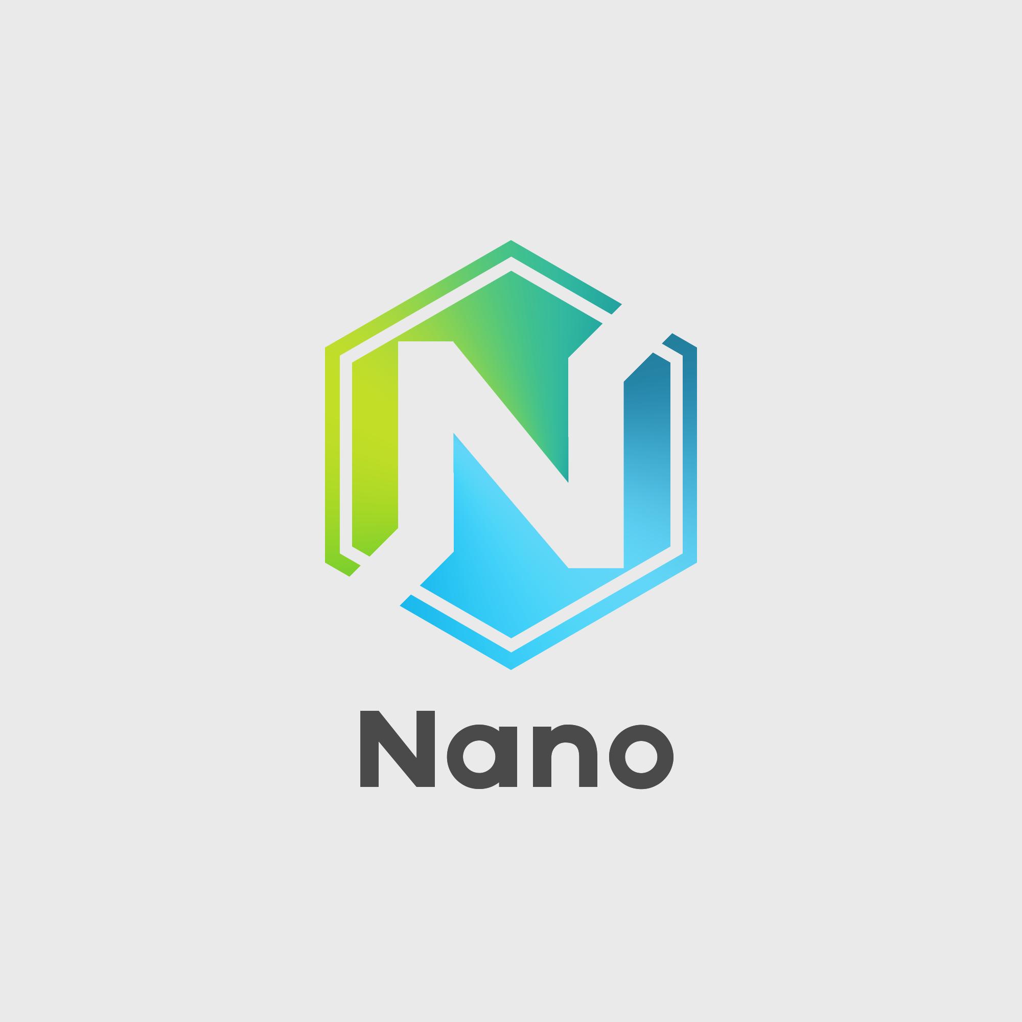 Nano logo concept : RaiBlocks.