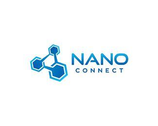 Nano Connect Logo design.