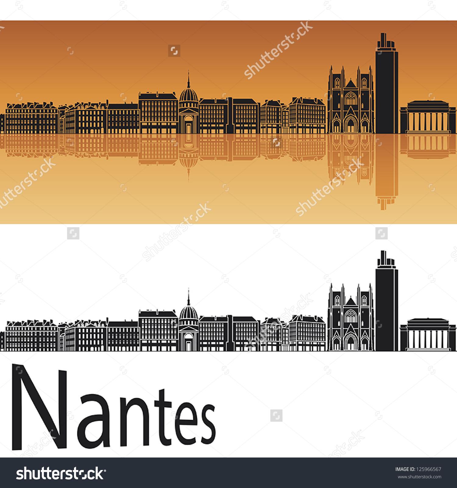 Nantes City Stock Vectors & Vector Clip Art.