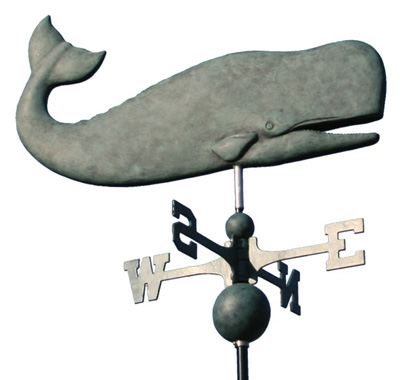 Nantucket Whale Weathervane Icon, PNG ClipArt Image.
