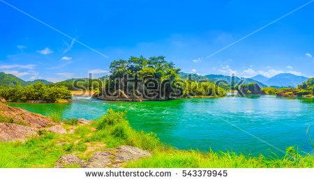 Thale Nai Lagoon Mae Koh Island Stock Photo 303313163.