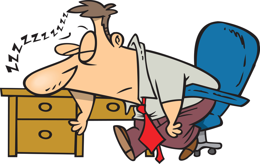 nap at work clipart - Clipground