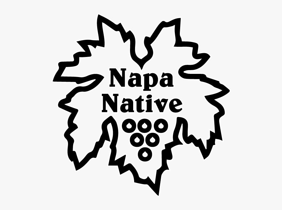 Official Napa Native Logo Final Black , Free Transparent.