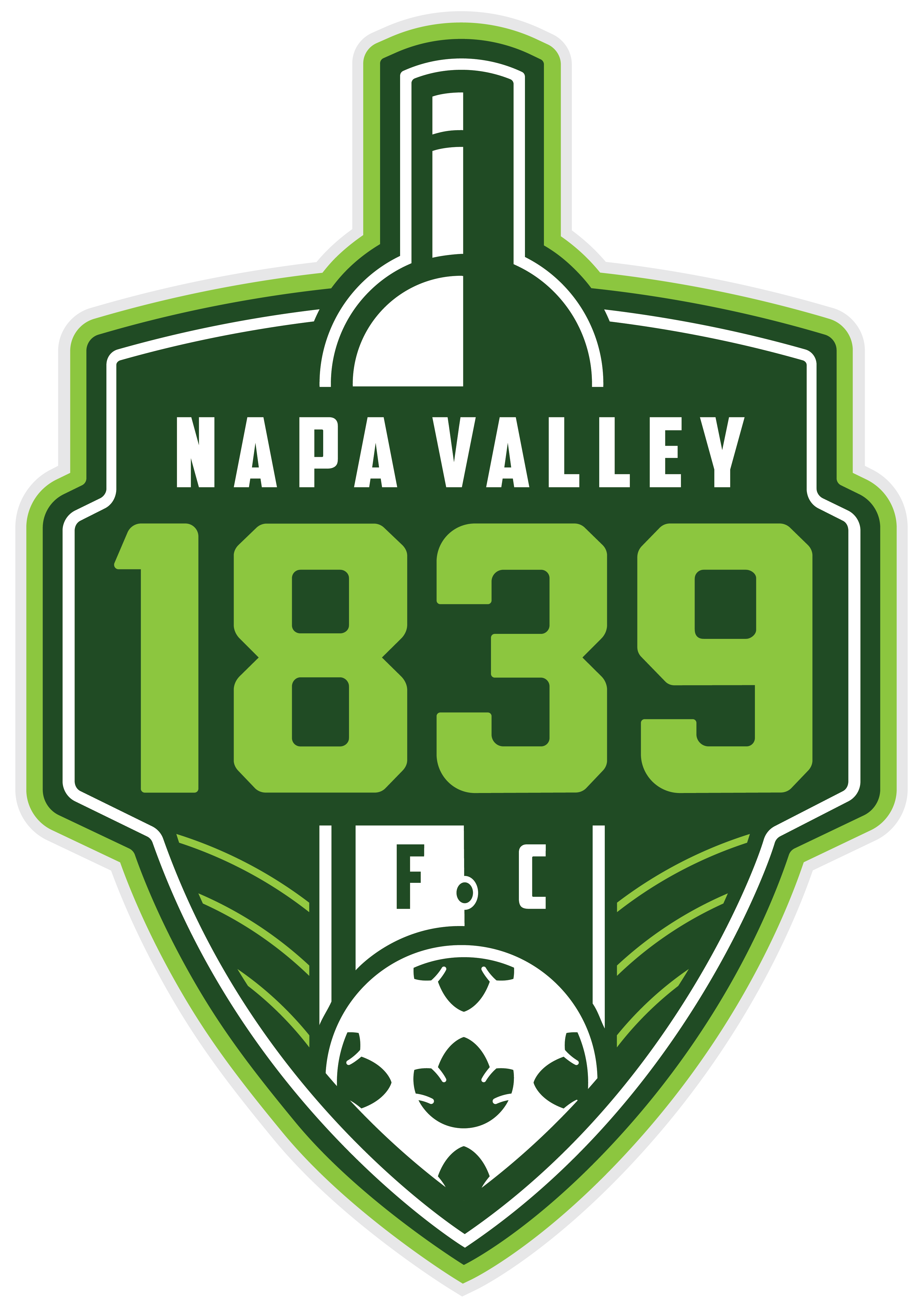Napa Valley 1839 FC Brand Unveiled.