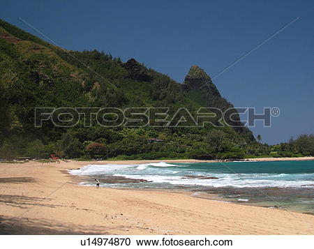 Stock Photography of Napali Coast, Kauai, HI, Hawaii, North Shore.
