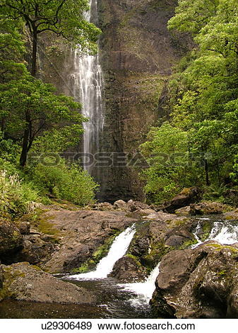 Stock Photograph of Napali Coast, Kauai, HI, Hawaii, North Shore.