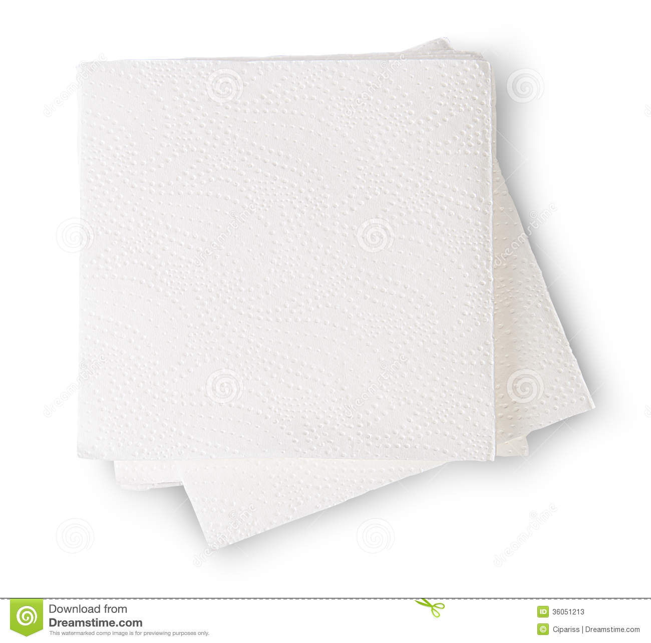 Packaged Paper Napkin Clipart.