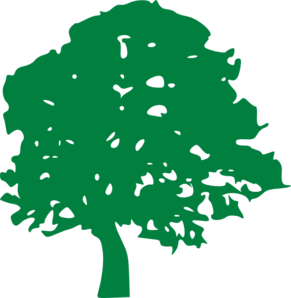 Green Tree Clip Art at Clker.com.