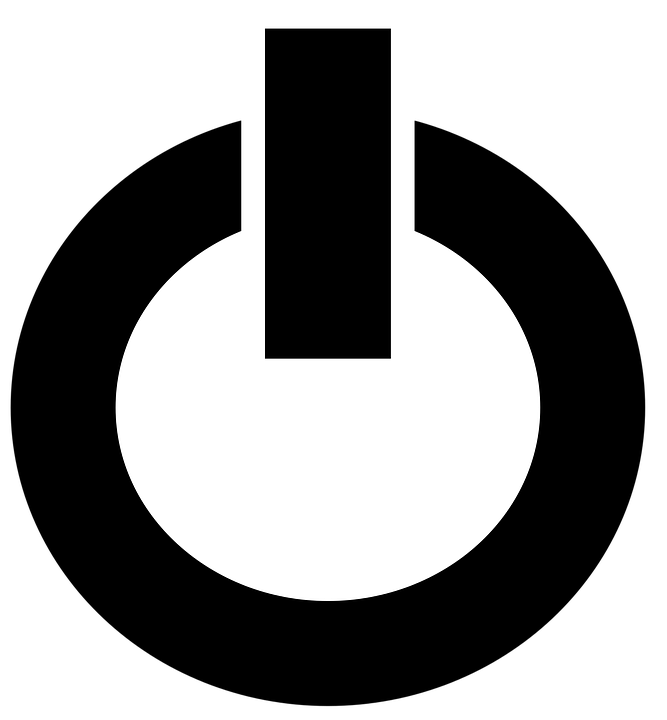 Free vector graphic: Power Off, Shutdown, Computer.