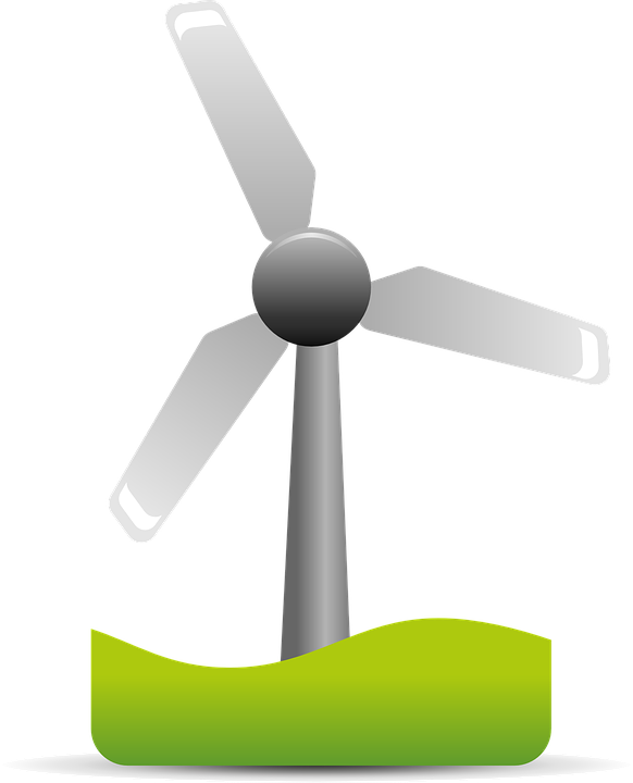 Free vector graphic: Wind Energy, Wind, Energy, Rotation.