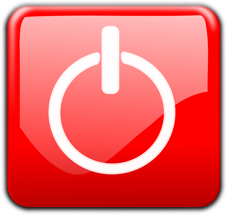 Free vector graphic: Power, On, Off, Button, Glossy, Red.
