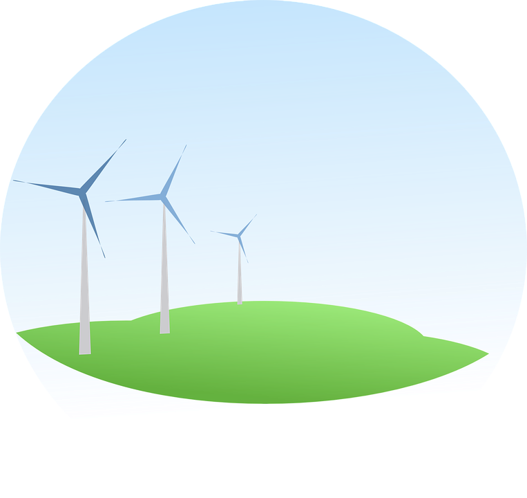 Free vector graphic: Energy, Wind Engine, Power.