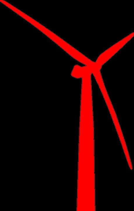 Free vector graphic: Wind Power, Wind, Turbine.