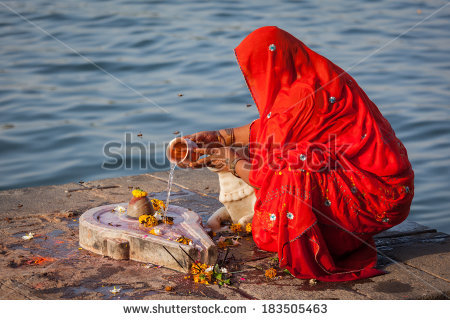 Narmada River Stock Images, Royalty.