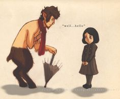 The Lion, the Witch, and the Wardrobe by @taryndraws #narnia.