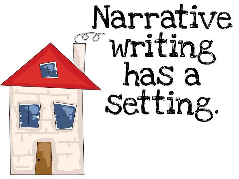 Narrative writing clipart.