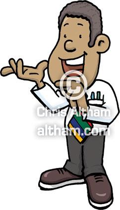 Teacher Headmaster Cartoon.
