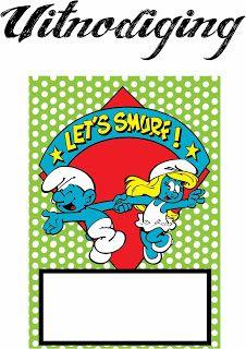 Smurfs clip art.
