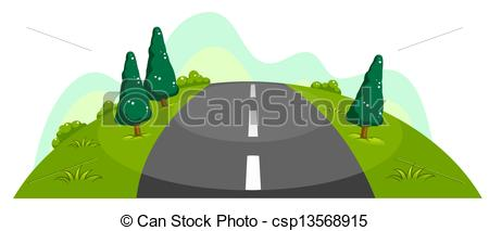 Wide and narrow clipart.