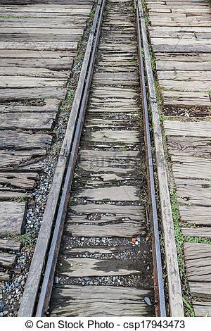Picture of Narrow gauge railway line.