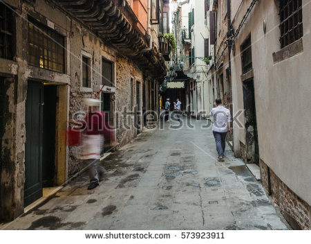 Narrow Lane Stock Images, Royalty.