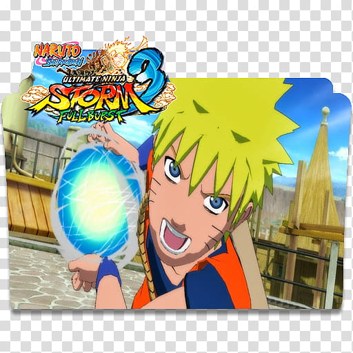 Naruto Shippuden: Storm Full Burst Folder Icon transparent.