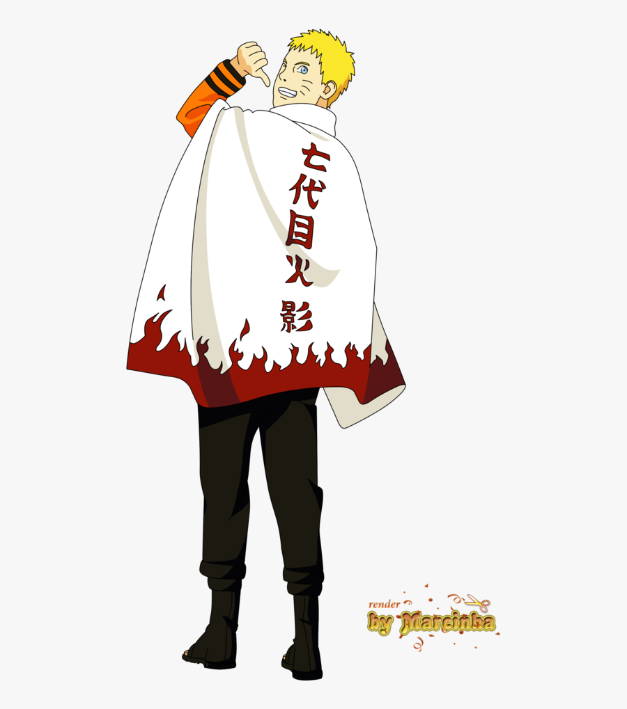 Naruto Clipart Hokage Outfit.