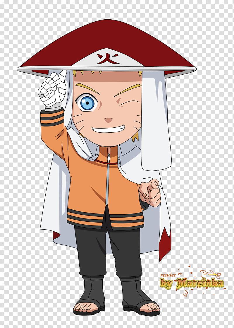 Chibi Naruto Hokage The Last, Hokage Naruto illustration.