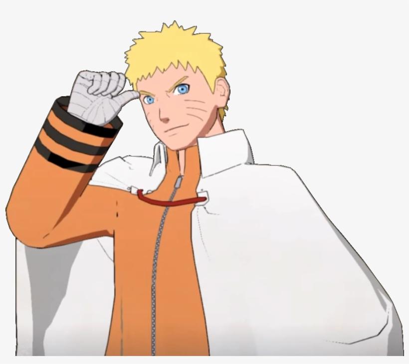 Hokage Naruto Crossover Render.