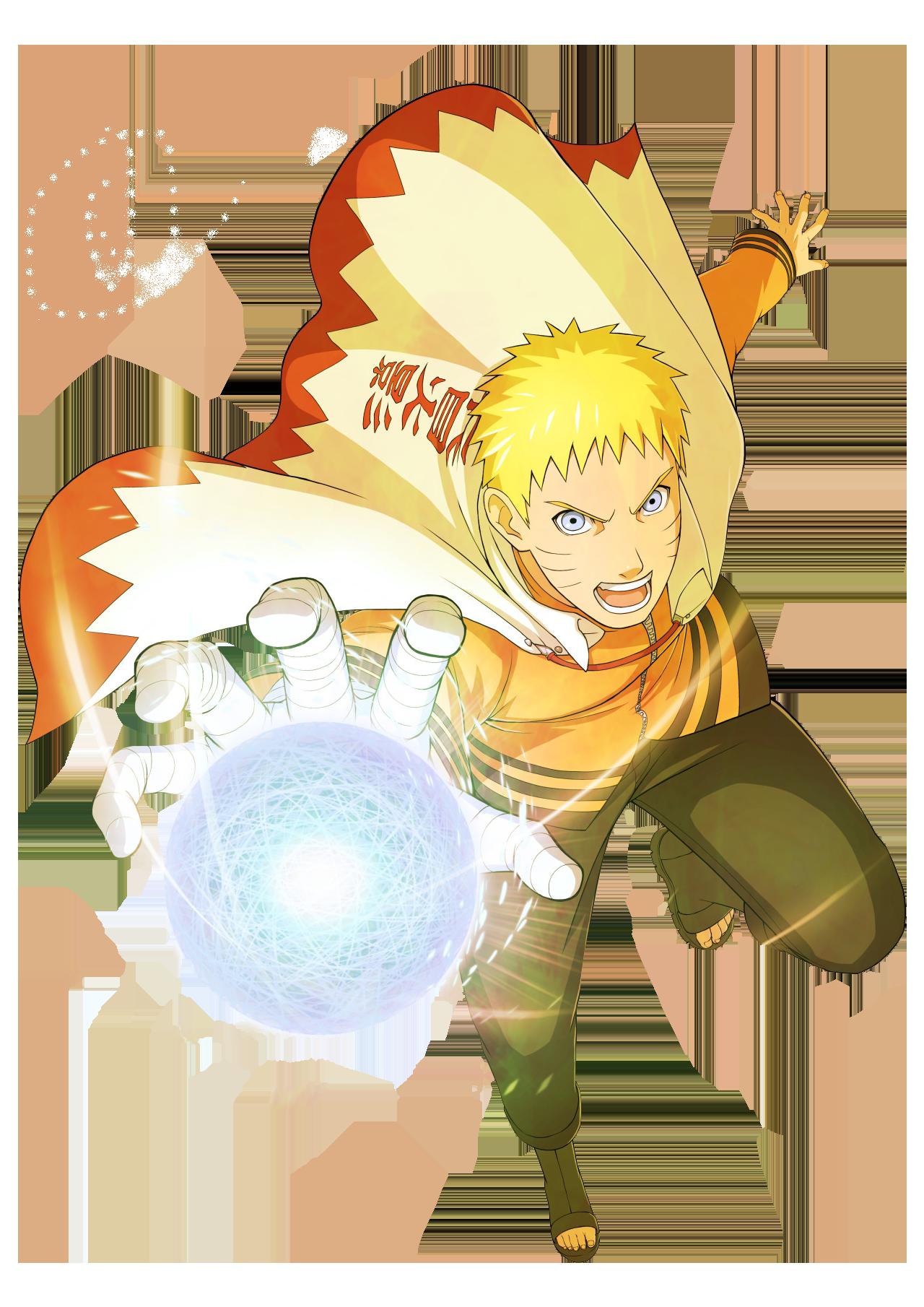 Naruto Hokage PNG.