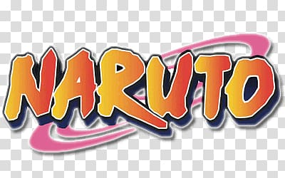 Naruto logo, Naruto Logo transparent background PNG clipart.