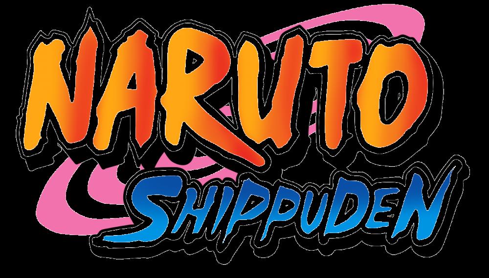 Naruto Shippuden Logo PNG Transparent Image.